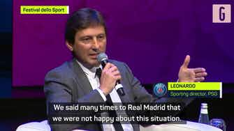 Preview image for 'It's not fair' - Leonardo slams Real Madrid's Mbappe approach