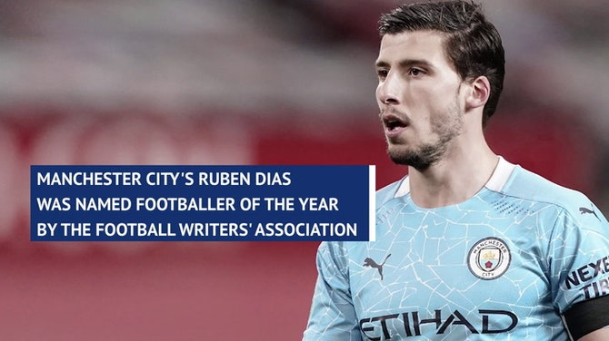 A 'privilege' to win FWA Footballer of the Year award - City's Dias
