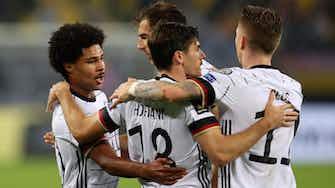 Vorschaubild für WM-Ticket zum Greifen nah: DFB-Elf bezwingt Rumänien