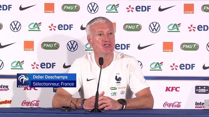"""Bleus - Deschamps sur Kanté : """"Il est capable de jouer partout"""""""