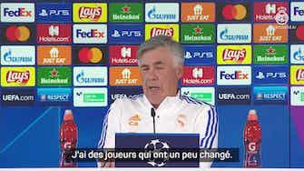 """Image d'aperçu pour  Groupe D - Ancelotti : """"Je n'aime pas comparer cette équipe avec celle de Zizou"""""""