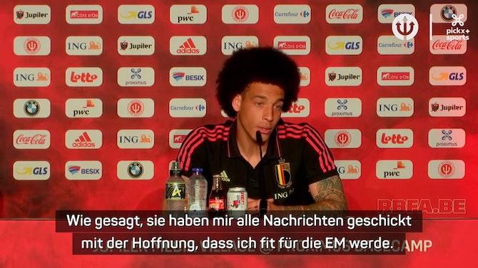 Witsel: Dortmund hat mir zur Rückkehr gratuliert