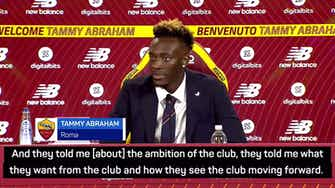 Preview image for Mourinho's Roma 'vision' inspired Abraham move
