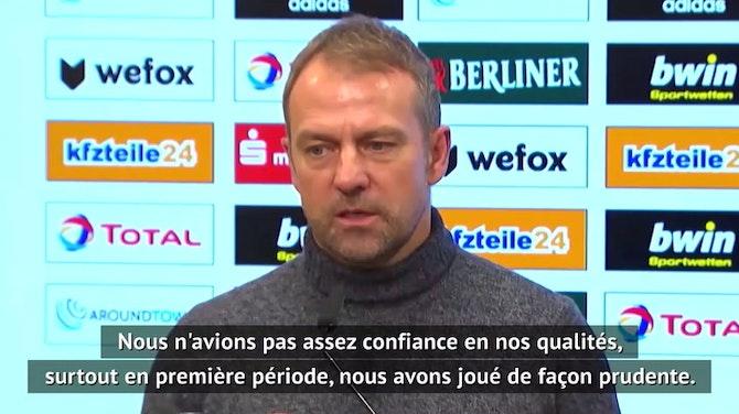 """Image d'aperçu pour 11e j. - Flick : """"Pas assez confiance en nos qualités"""""""