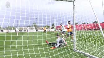 Image d'aperçu pour L'entrainement de l'Espagne après la Géorgie