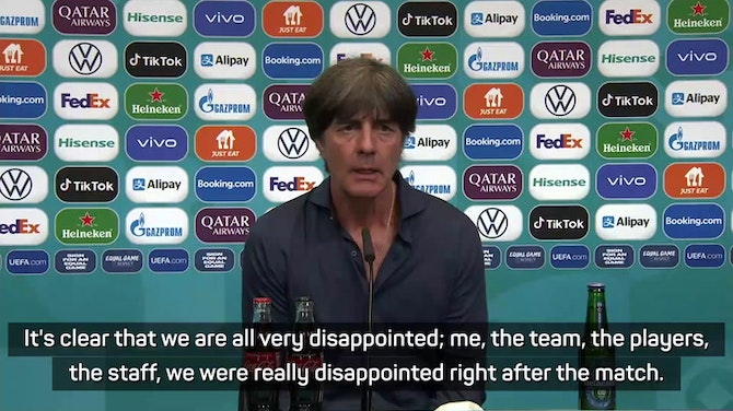 Preview image for 'Very disappointed' Löw bids farewell to Germany, but has no plans for his future