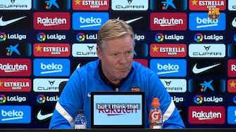 Vorschaubild für Koeman confident about squad reaction in Vallecas