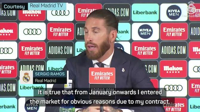 Sevilla? Barca? Ramos teases fans over his next move