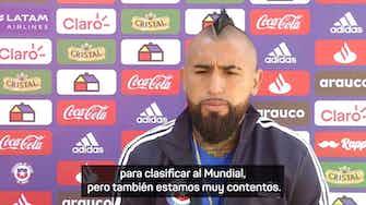 """Imagen de vista previa para Arturo Vidal: """"Nos jugamos la vida contra Venezuela"""""""