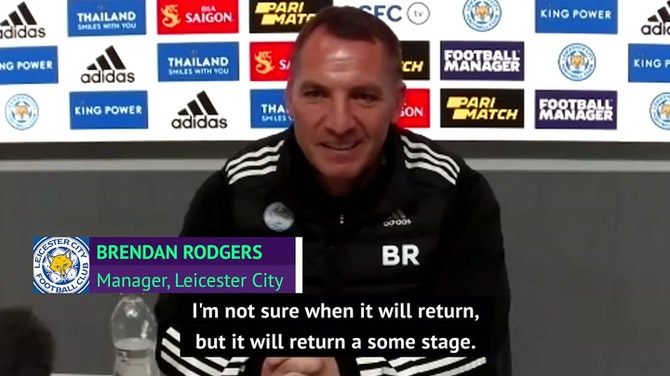 Rodgers gives revelation on 'genuine' and 'kind' Leicester owners