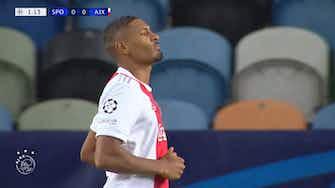 Imagem de visualização para Haller marca quatro para o Ajax contra o Sporting na Champions