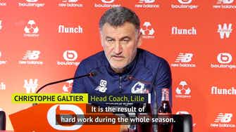 Preview image for 'Extraordinary' if Lille beat PSG to French title - Galtier