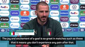 Preview image for Goals take the pain away - Bonucci on Immobile's acting skills