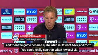 Preview image for It could have gone either way - Nagelsmann on narrow Bayern win