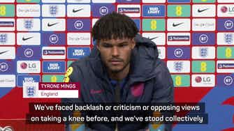 Preview image for Mings wants fitting punishment for alleged racism during England-Hungary