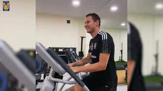 Preview image for Thauvin works on his recovery
