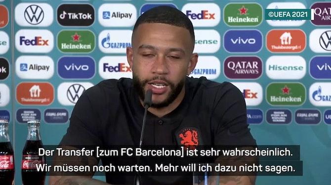 """Vorschaubild für Depay kurz vor Barca-Transfer: """"Will zu Koeman"""""""