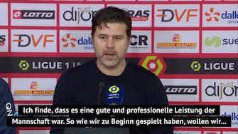 """Vorschaubild für PSG auf Platz zwei: Pochettino """"zufrieden"""""""