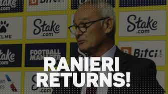 Preview image for Ranieri returns - Watford's new boss on English spirit, Klopp and pizza!