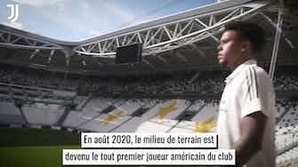 Image d'aperçu pour Les débuts de Weston McKennie à la Juventus