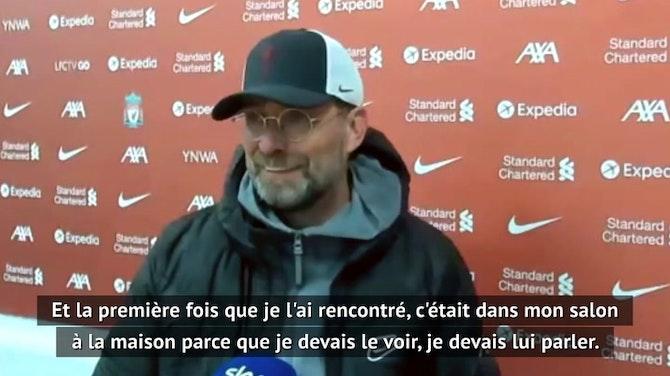 """Liverpool - Klopp sur Wijnaldum : """"Je perds un ami"""""""