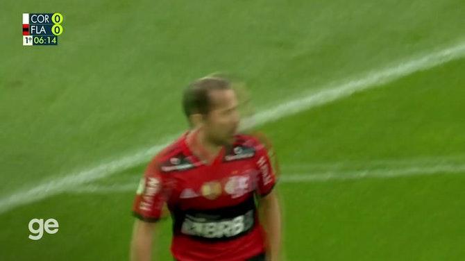 Imagem de visualização para Melhores momentos de Corinthians 1 x 3 Flamengo