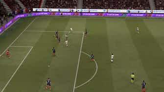 Image d'aperçu pour Mbappé fauche Havertz et concède un penalty ! (FIFA)