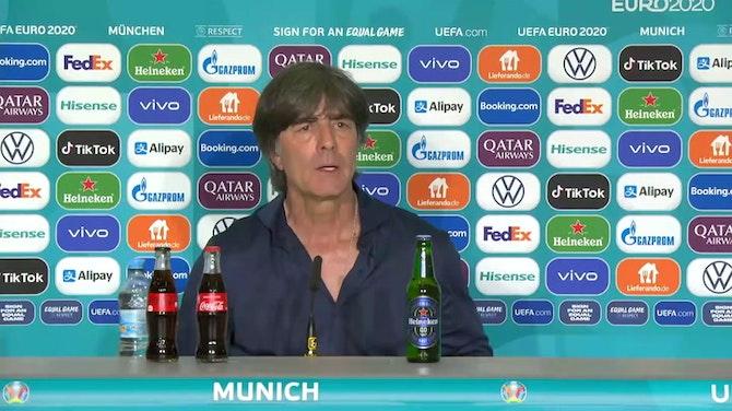 """Löw: """"Sehr starkes Spiel"""" gegen Portugal"""