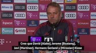 Imagen de vista previa para Flick se prepara para su despedida del Bayern