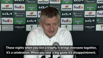 Preview image for Winning a trophy brings everyone together - Solskjaer