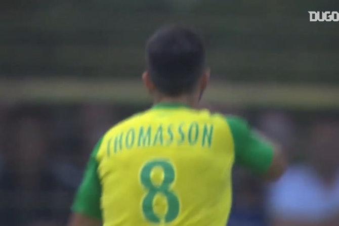 La belle volée de Thomasson contre Strasbourg