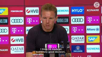 Preview image for Nagelsmann on Sané: 'We will have a lot of fun with him'
