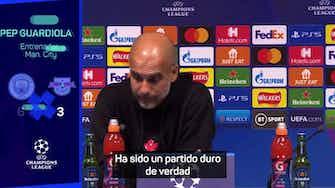 """Imagen de vista previa para Guardiola saca pecho: """"16 goles en los tres últimos partidos en casa"""""""