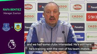 Preview image for Benitez challenges James Rodriguez to show commitment to Everton