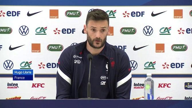 """Image d'aperçu pour Bleus - Lloris : """"Benzema a évolué"""""""