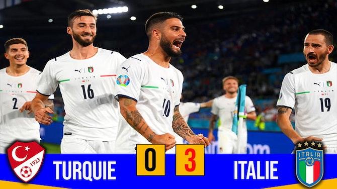 Comment l'Italie a détruit la Turquie / Euro 2021