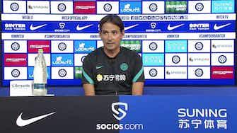 """Anteprima immagine per Inter, Inzaghi: """"Bastoni non ci sarà e su Sensi…"""""""