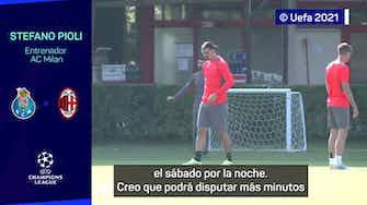 """Imagen de vista previa para Pioli: """"Ibrahimovic no será titular"""""""