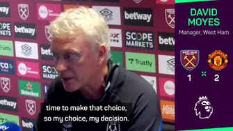 Preview image for Moyes takes responsibility for Noble penalty miss