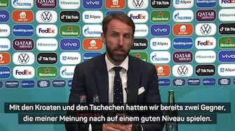 Vorschaubild für Southgate lobt DFB-Team vor möglichem Duell