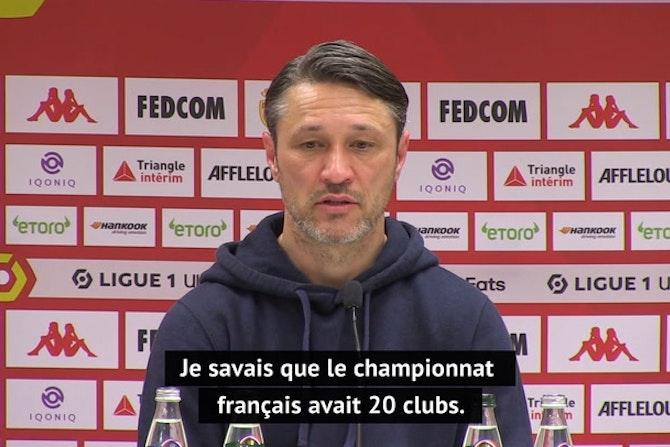 """35e j. - Kovac sur une Ligue 1 à 18 clubs : """"Si on réduit, où est la solidarité ?"""""""