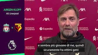 """Anteprima immagine per Klopp: """"Ranieri? A 69 anni sembra più giovane di me"""""""