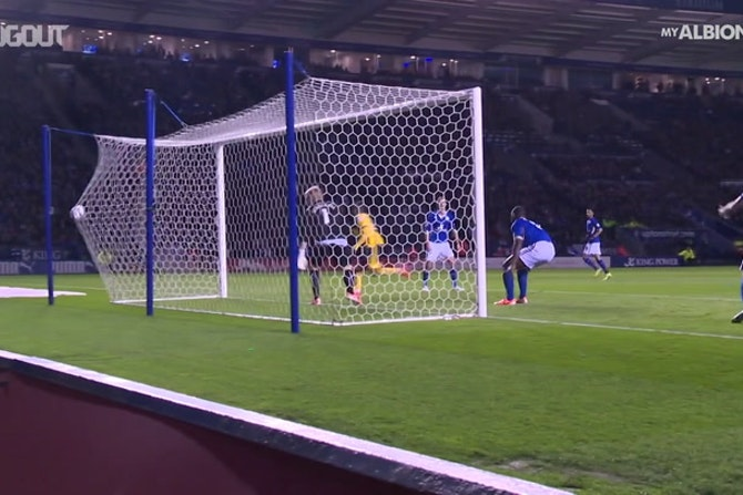 Les buts de Jesse Lingard avec Brighton