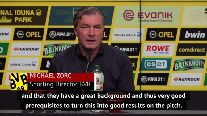 Zorc rubbishes 'duel for number two status' in Bundesliga