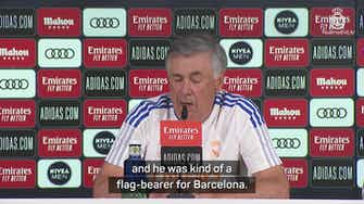 Preview image for Ancelotti 'surprised' but respects Messi's PSG move
