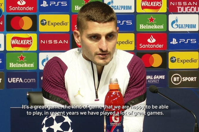 Verratti: 'We have to give the maximum'