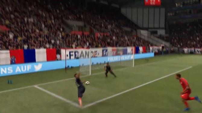 Image d'aperçu pour L'énorme raté de Mbappé en 8es de l'Euro 2020 (FIFA)
