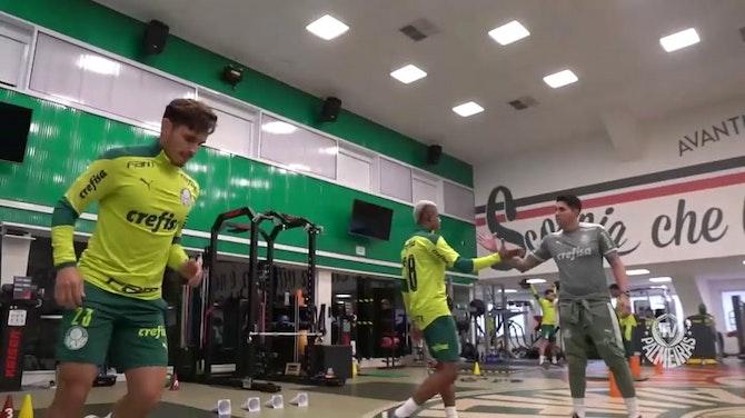 Imagem de visualização para Palmeiras segue forte na preparação para o clássico contra o São Paulo
