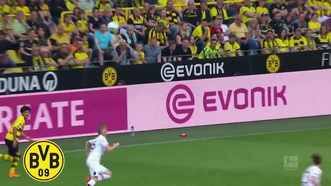 Melhores momentos de Jadon Sancho pelo Borussia Dortmund