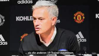Vorschaubild für Mourinho zur Roma: Seine besten PK-Momente